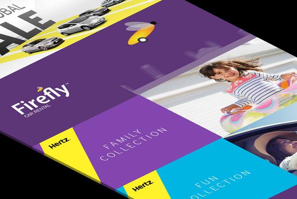 Hertz Promotional Banner Animations